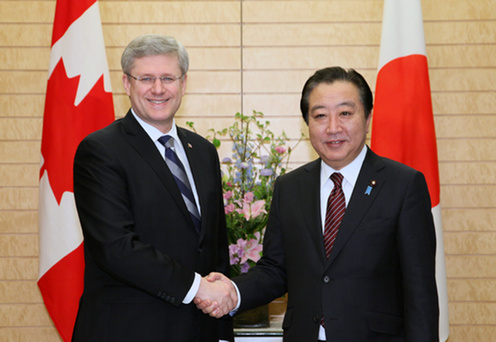 (Photo)Japan-Canada Summit Meeting (Summary)-1